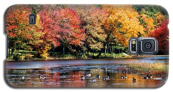 Autumn Pond Galaxy S5 Case