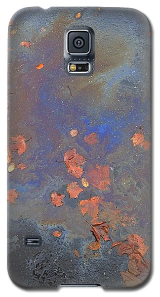 Autumn Puddle Galaxy S5 Case by John Norman Stewart