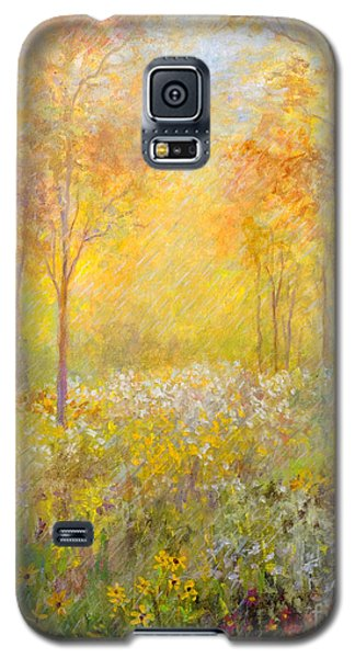 Autumn Rain Galaxy S5 Case by Lou Ann Bagnall