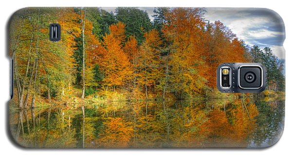 Autumn Reflection Galaxy S5 Case