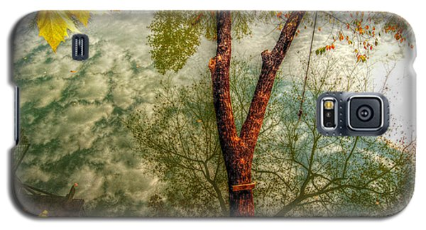 Galaxy S5 Case featuring the photograph Autumn Reflection  by Peggy Franz