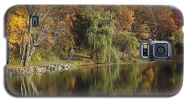 Autumn Reflections Galaxy S5 Case by Bill Woodstock