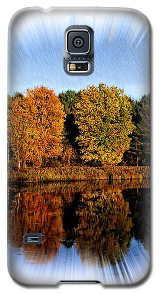 Autumn Reflections Galaxy S5 Case by Constantine Gregory