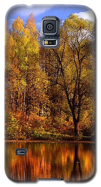 Autumn Reflections Galaxy S5 Case by Jenny Rainbow