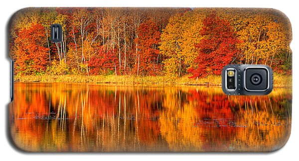 Autumn Reflections Minnesota Autumn Galaxy S5 Case