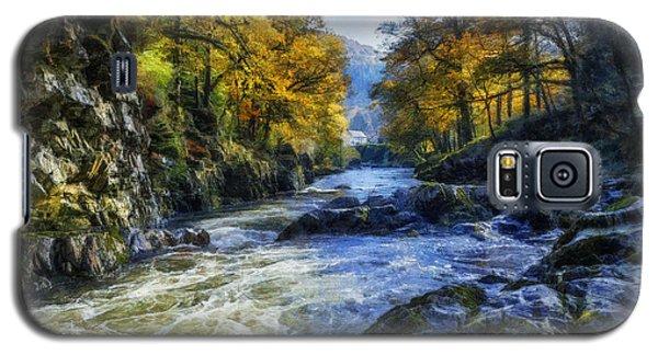 Autumn River Valley Galaxy S5 Case