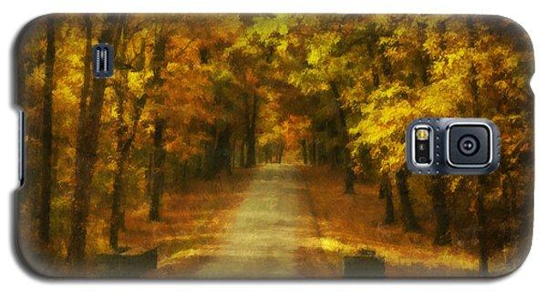 Autumn Road Galaxy S5 Case