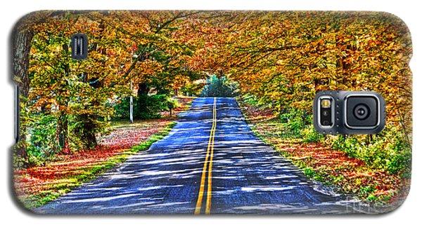 Autumn Road Oneida County Ny Galaxy S5 Case by Diane E Berry