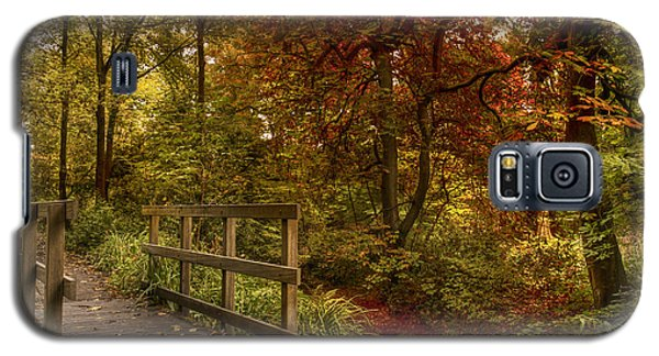 Autumn Scene Galaxy S5 Case