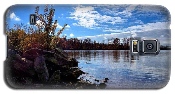 Autumn Shores Galaxy S5 Case by Ron Grafe