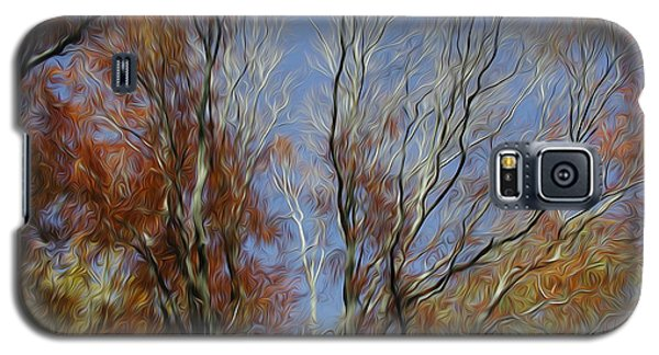 Galaxy S5 Case featuring the digital art Autumn Sky by Kelvin Booker