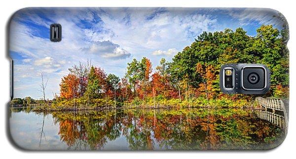 Autumn Sky Galaxy S5 Case by Rodney Campbell