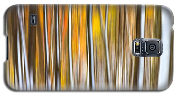 Galaxy S5 Case featuring the photograph Autumn Snow Dream by Carl Amoth