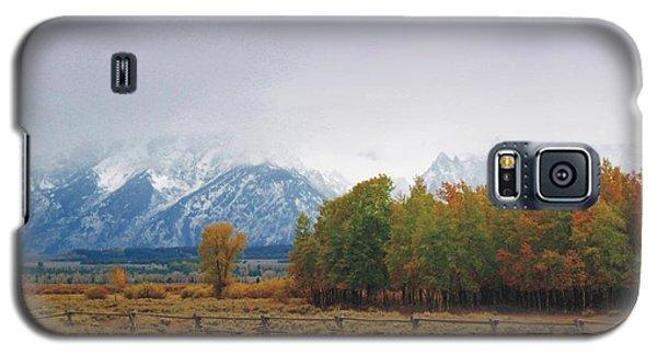 Autumn Snow In The Tetons Galaxy S5 Case