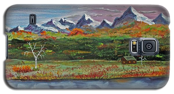 Galaxy S5 Case featuring the painting Autumn Splendor  140403 by Jack G  Brauer