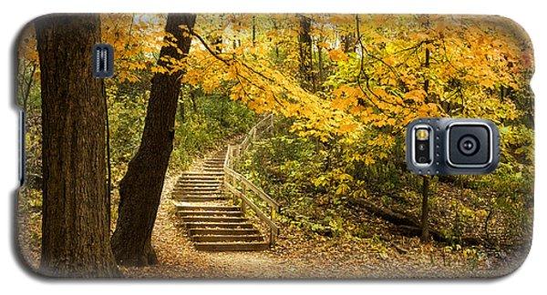 Autumn Stairs Galaxy S5 Case