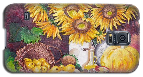 Autumn Still Life Galaxy S5 Case