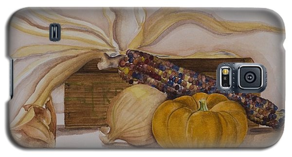 Galaxy S5 Case featuring the painting Autumn Still Life by Rebecca Matthews