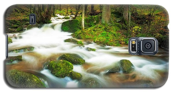 Galaxy S5 Case featuring the photograph Autumn Stream by Maciej Markiewicz
