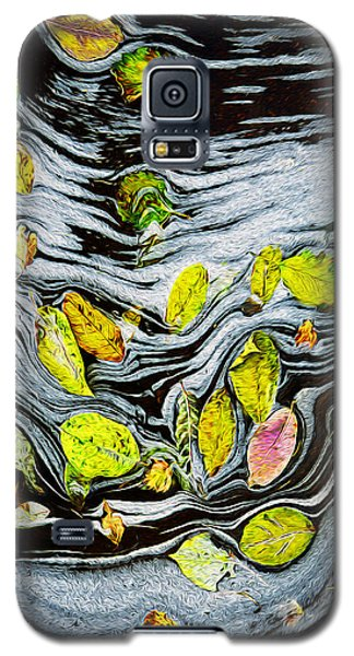 Galaxy S5 Case featuring the photograph Autumn Stream by Vladimir Kholostykh
