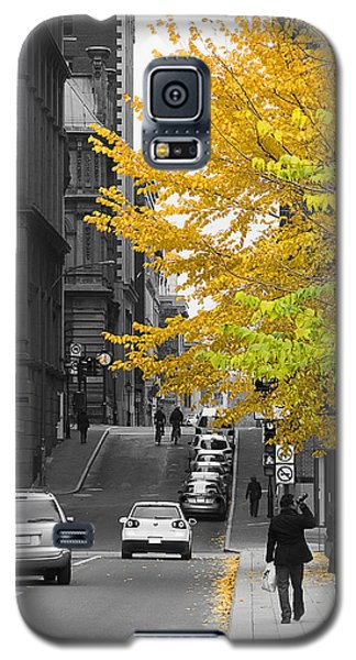 Autumn Stroll Galaxy S5 Case by Nicola Nobile