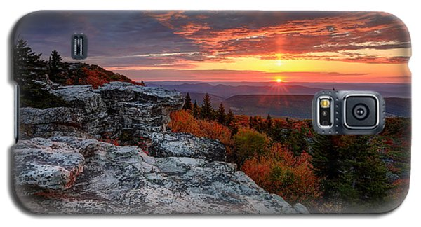 Autumn Sunrise At Dolly Sods Galaxy S5 Case by Jaki Miller