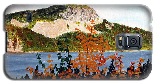 Autumn Sunset On The Hills Galaxy S5 Case by Barbara Griffin