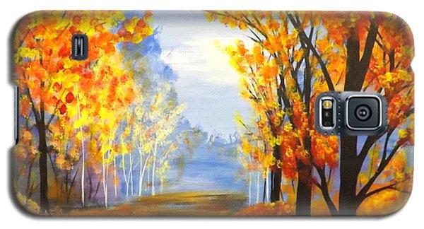 Autumn Trail Galaxy S5 Case