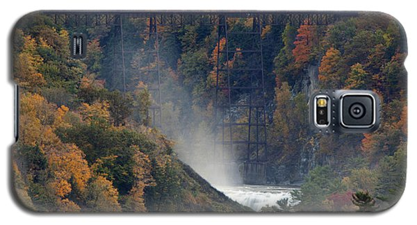 Autumn Trestle Galaxy S5 Case by Timothy McIntyre