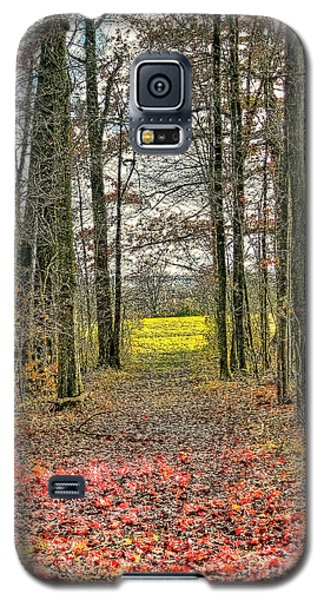 Autumn Tunnel Vision Galaxy S5 Case by Jim Lepard