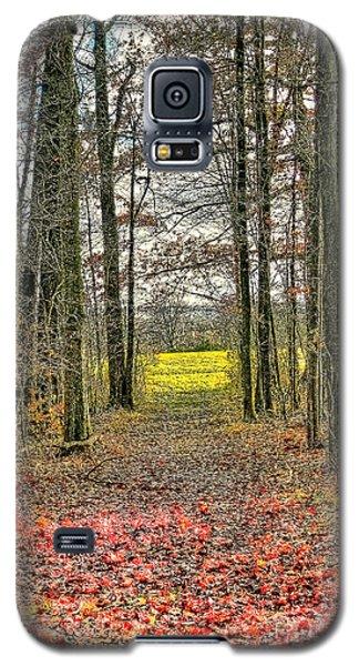 Autumn Tunnel Vision Galaxy S5 Case