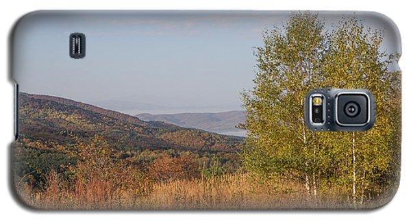 Galaxy S5 Case featuring the pyrography Autumn Vitosha Mountain Bulgaria by Jivko Nakev