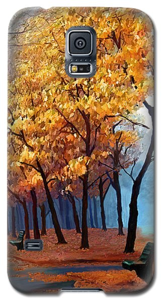 Autumn Walk Galaxy S5 Case by James Shepherd