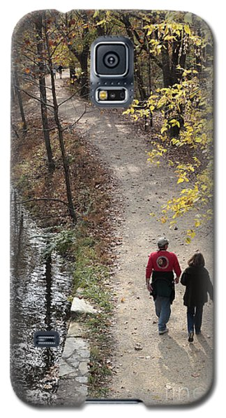 Autumn Walk On The C And O Canal Towpath Galaxy S5 Case