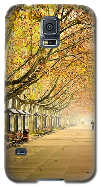 Autumn Walk Xian China Galaxy S5 Case