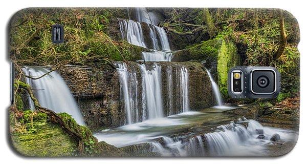 Autumn Waterfall Galaxy S5 Case by Ian Mitchell
