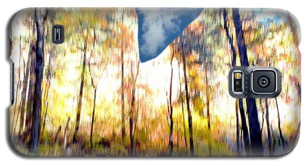 Autumn West Fork Bell Rock Heart Cloud Galaxy S5 Case by Marlene Rose Besso