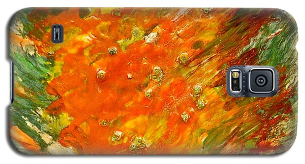 Galaxy S5 Case featuring the painting Autumn Wind by Joan Reese