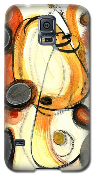 Galaxy S5 Case featuring the painting Autumn Winds by Stephen Lucas