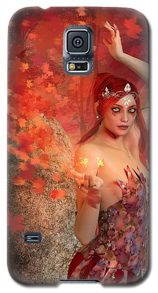 Autumn Witch Galaxy S5 Case