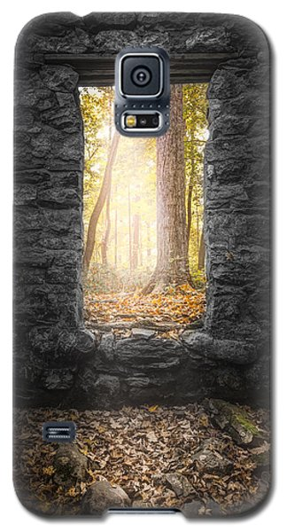 Autumn Within Long Pond Ironworks - Historical Ruins Galaxy S5 Case
