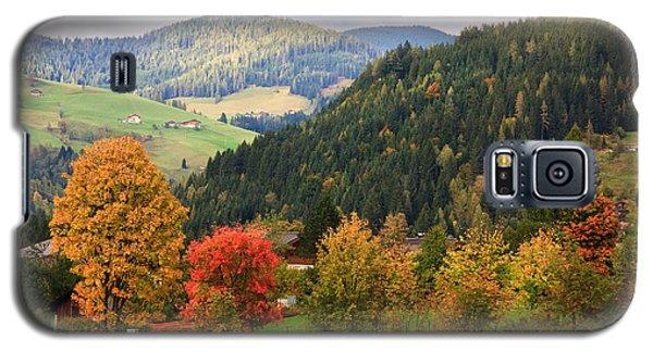 Autumnal Colours In Austria Galaxy S5 Case
