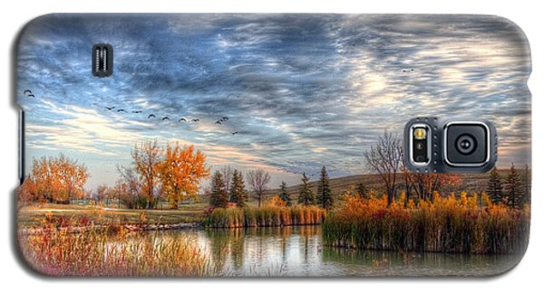 Autumnal Morn Galaxy S5 Case