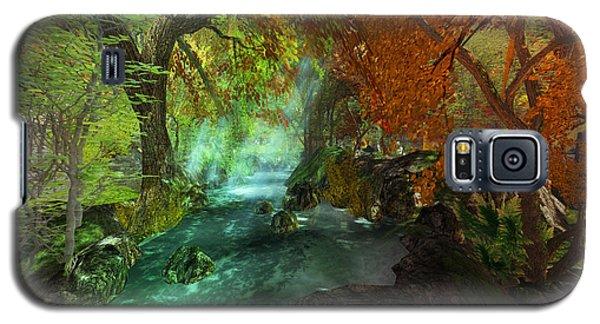 Autumnal Solitude  Galaxy S5 Case by Kylie Sabra
