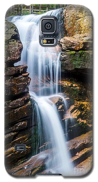 Galaxy S5 Case featuring the photograph Avalanche Falls2 by Mike Ste Marie