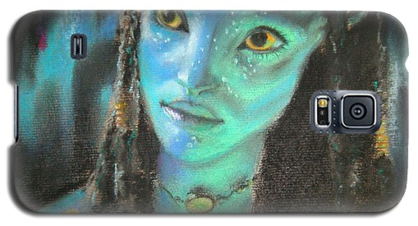Galaxy S5 Case featuring the pastel Avatar by Lori Ippolito