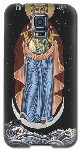 Galaxy S5 Case featuring the painting Ave Maris Stella  Hail Star Of The Sea 044 by William Hart McNichols