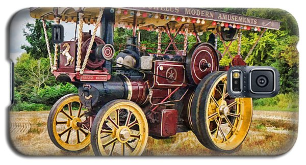 Aveling And Porter Showmans Tractor Galaxy S5 Case