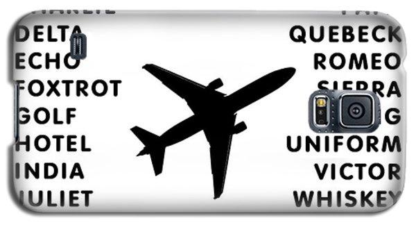 Aviation Code Galaxy S5 Case