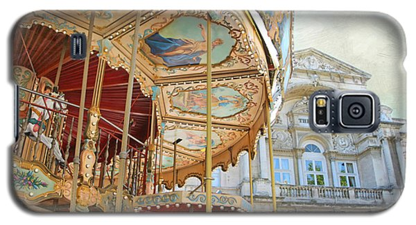 Galaxy S5 Case featuring the photograph Avignon Carousel by Karen Lynch